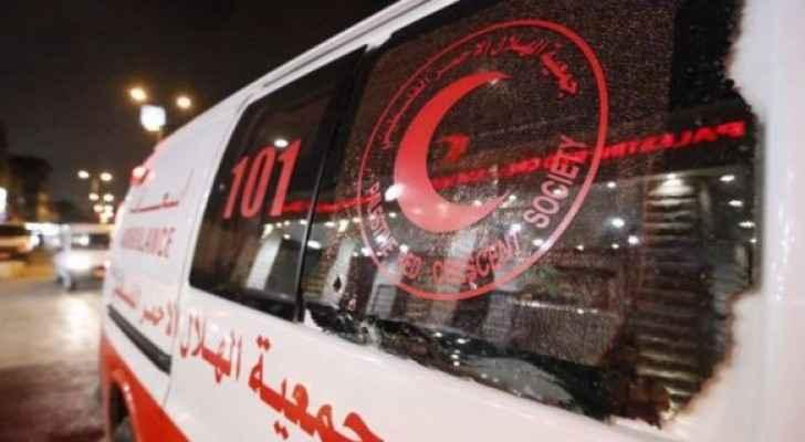 سيارة اسعاف فلسطينية - ارشيف