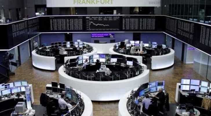 تراجع مؤشر أسهم منطقة اليورو قليلا