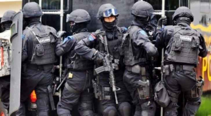 عناصر من الشرطة الماليزية