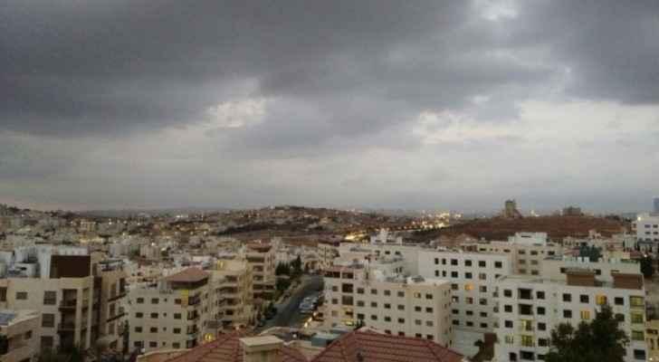 صورة عامة للعاصمة عمان