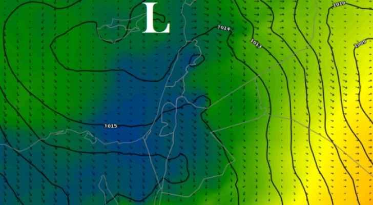 كتلة هوائية جديدة أكثر برودة متوقعة مطلع الأسبوع الجديد