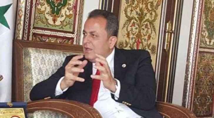 أيمن علوش .. القائم بأعمال السفارة السورية في عمّان