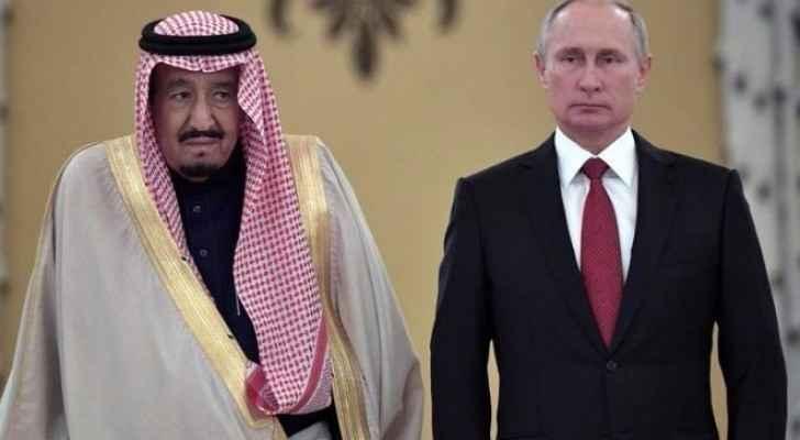 الرئيس الروسي والرئيس السعودي