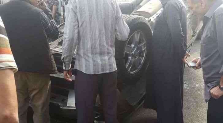 4 إصابات بحادث سير في اربد