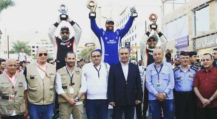 محمد تيسير بطلاً لسباق السرعة لعام 2017