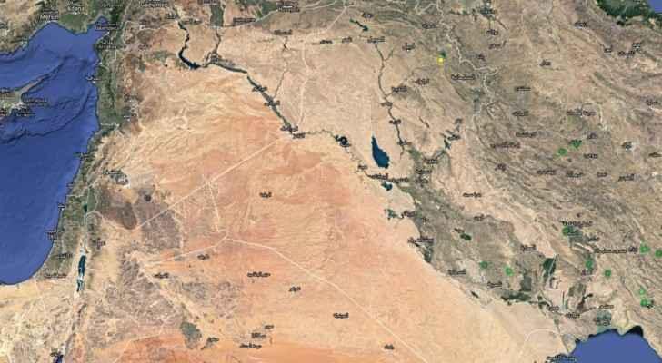 الزلزال ضرب شمال العراق وشعرت به مدن عربية