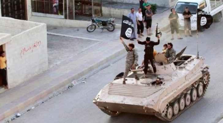 عناصر من تنظيم داعش الإرهابي - أرشيفية