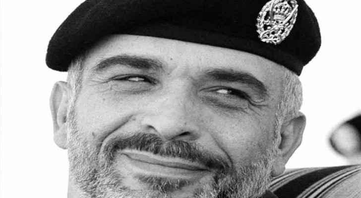 جلالة المغفور له بإذن الله الملك الحسين بن طلال