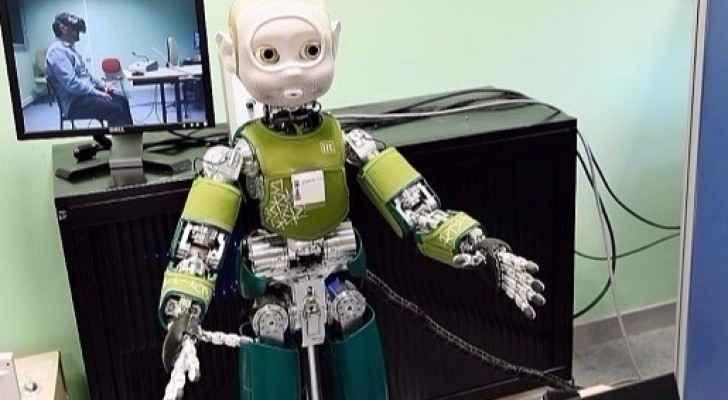روبوت في أحد المخابر العلمية (أرشيف)