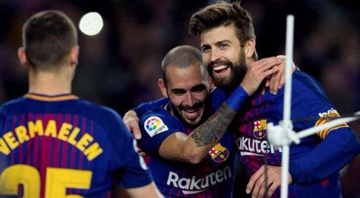 برشلونة يتأهل في كأس الملك بفوز كبير على مورسيا