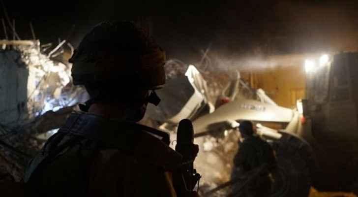 قوات الاحتلال تهدم منزل اسير في قباطيه