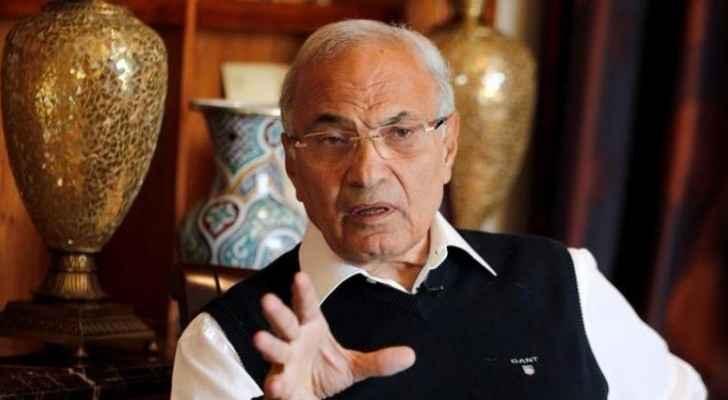رئيس وزراء مصر السابق أحمد شفيق