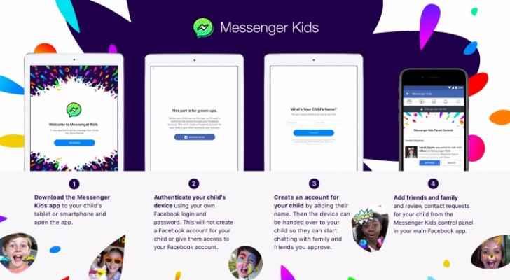 فيسبوك تطلق نسخة من تطبيق مسنجر للأطفال