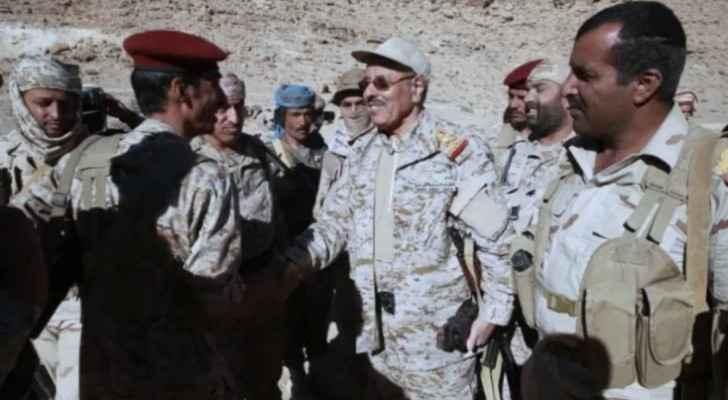 نائب الرئيس اليمني علي محسن صالح الأحمر