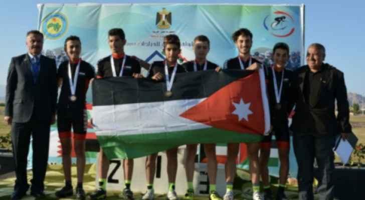 منتخب الناشئين يحصل على برونزية البطولة العربية للدراجات