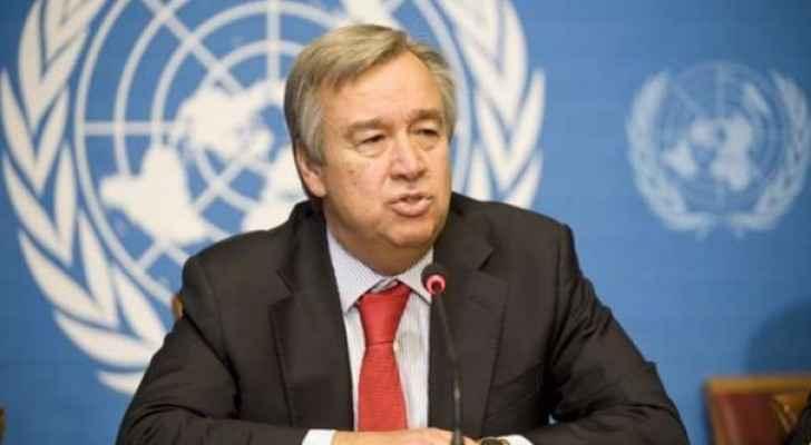 الأمين العام للأمم المتحدة يحذر من أي إجراء أحادي بشأن القدس يؤدي لحل الدولتين