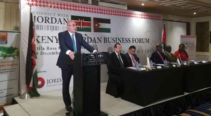 وزير الاستثمار يتحدث عن وعد كيني بمنح 500 سلعة أردنية أفضليات جمركية
