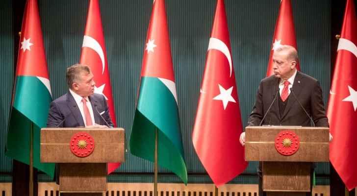 مباحثات الملك وأردوغان في تركيا