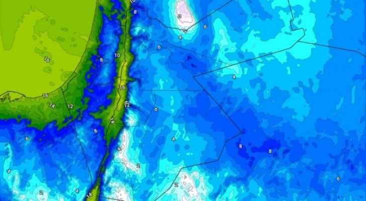 الخميس: انحسار الفعالية الجوية مع طقس بارد بشكل لافت وصقيع مُحتمل ليلاً