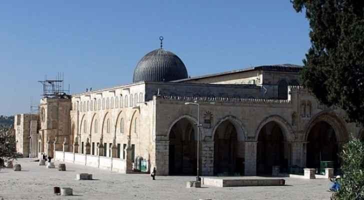 المسجد القبلي في المسجد الأقصى - ارشيف