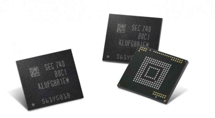 سامسونغ تبدأ إنتاج أول ذاكرة فلاشية بسعة 512 جيجابايت