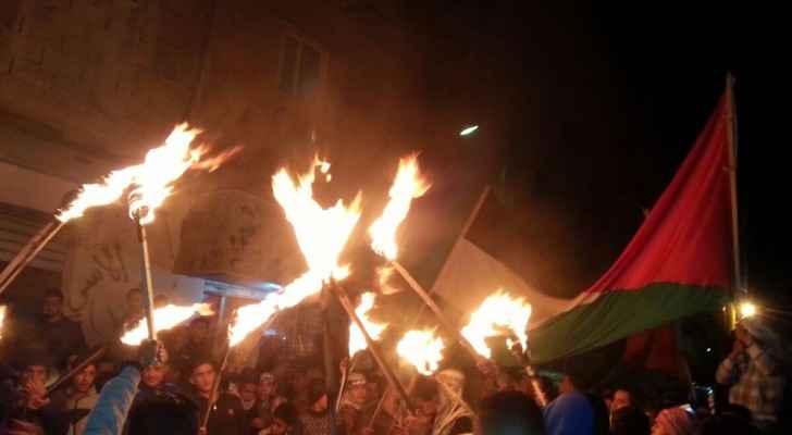تواصل الاحتجاجات ضد قرار واشنطن الاعتراف بالقدس عاصمة لإسرائيل