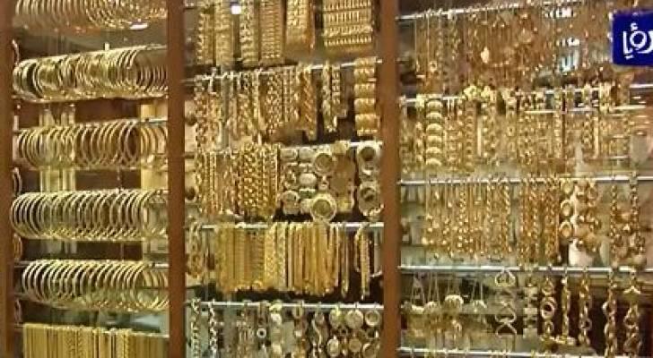 توقعات بارتفاع سعر غرام الذهب 1.5 دينار بعد رفع الضريبة