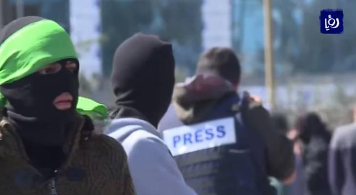 إصابة فلسطينيين برصاص الاحتلال خلال مواجهات في الضفة