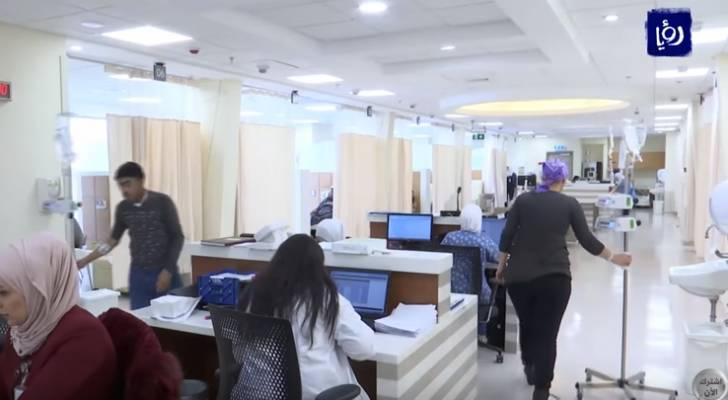 مركز الحسين للسرطان يثمن التوجه لإصدار بطاقات خاصة للمرضى