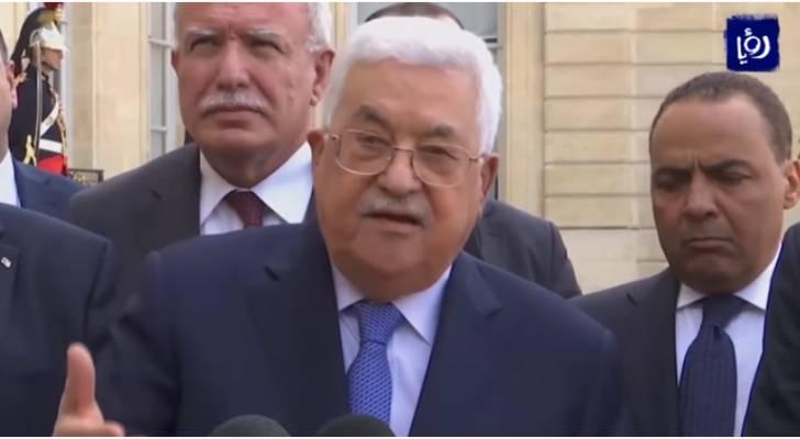 الرئيس الفلسطيني يبدي استعداده لمفاوضات سرية أو علنية مع الاحتلال بوساطة دولية
