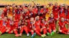منتخب إنجلترا يفوز بالمركز الثالث في مونديال السيدات