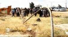 ضبط اعتداء على أحد خطوط الري الرئيسية في وادي الاردن