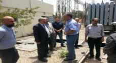 الحياري يطالب شركة الكهرباء الوطنية اعادة التيار الكهربائي لمحطة ماركا بالكامل اليوم