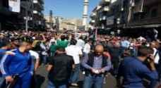 مسيرات للتنديد بالهجمة الاسرائيلية على الشعب الفلسطيني