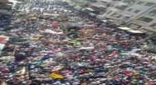 عمّان: الآلاف يهتفون نصرة للأقصى .. صور وتفاصيل