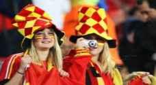 الغاء مباراة بلجيكا ضد اسبانيا لأسباب أمنية