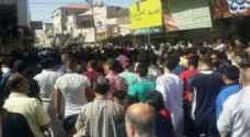 مسيرة في الزرقاء لنصرة الشعب الفلسطيني