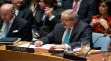 جودة يؤكد اهمية القرار المتخذ من مجلس الامن لتحقيق حل سياسي للازمة السورية