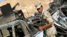 قتلى وجرحى في هجوم على معسكر للجيش المصري بسيناء