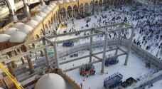 السعودية: انتهاء إزالة أعمال الجسر الجنوبي للمطاف