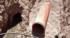 ضبط 184 حالة غير مشروعة على شبكة الصرف الصحي جرش
