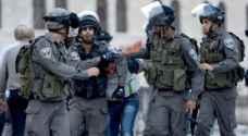 قوات الاحتلال تعتقل 11 مواطنا بالضفة الغربية
