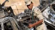 إصابة 3 مجندين مصريين بانفجار عبوة ناسفة بسيناء