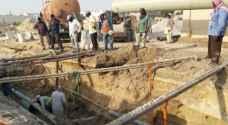 مقاول في دير علا يقطع المياه عن قرية معدي