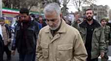 """سياسيون عراقيون سنّة ينددون بزيارة """" سليماني """" للفلوجة"""