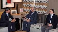 مندوبا عن الملك، رئيس الديوان الملكي يلتقي نائب رئيس وزراء تركمانستان