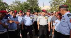 زيارة مدراء الأجهزة الأمنية لموقع الإحتفال بمئوية الثورة العربية الكبرى