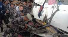 الأردن خلال 24 ساعة : 103 إصابات بـ 352 حادثًا مختلفًا