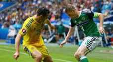 """""""يورو 2016"""".. 5 أرقام تحققها أيرلندا الشمالية بفوزها على أوكرانيا"""