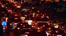 عمان تشهد حركة مرورية نشطة .. والسير توضح